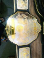 NWA WORLD HEAVYWEIGHT WRESTLING CHAMPIONSHIP BELT REPLICA
