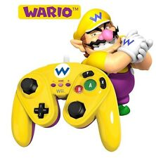 Nintendo Wii U Official WARIO Wired Fight Pad Classic Controller PDP (Gamepad)