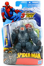 "Marvel Universe Spider-Man Power Charge RHINO 4"" Action Figure Hasbro 2009"
