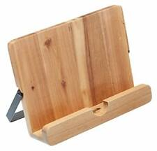 Kitchencraft Natural Elements Acacia Wood Cookbook / Tablet Stand