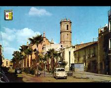 BENICARLO (ESPAGNE) VELO-SOLEX ,RENAULT DAUPHINE , 4L & FIAT  aux VILLAS en 1970