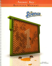 BJU Science 1 Student Activities Manual Answer Key Third Edition - 1st Grade