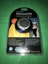 BluFire Pedometer PD-20 Step Counter Speed Pace FM Radio Memory Stopwatch
