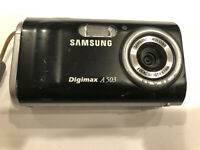 "Samsung Digimax A503 Digital Camera 5.0 Megapixels 2.0"" LCD"