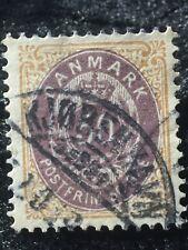 SCOTTS #33 DENMARK STAMP USED