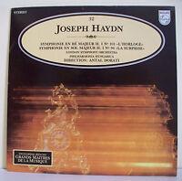 """33T Joseph HAYDN Disque LP 12"""" L'HORLOGE -SURPRISE -DORATI - MUSIQUE ALPHA N° 32"""