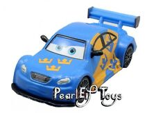 Disney Pixar Cars Jan Flash Nilsson Sweden Racer Swedish 1/55 Diecast No Box