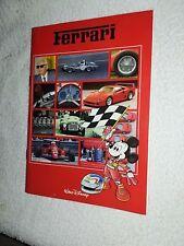 TOPOLINO FERRARI  album figurine completo 1990  CPL 60/60 disney italia stickers