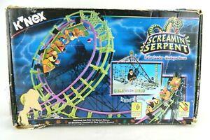 K'NEX - SCREAMIN SERPENT ROLLER COASTER - Complete In Box #63153 Model Set KNEX