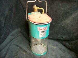 Vintage Bernz O Matic TX 750 Propane Lantern Dual Beam Green