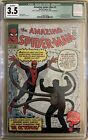 Amazing Spiderman 3 CGC 3.5 1st app doctor octopus Qualified NOT CBCS PGX