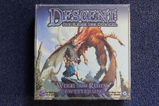 Descent 1. Edition - Die Reise ins Dunkel Erweiterung Wege zum Ruhm NEU und OVP