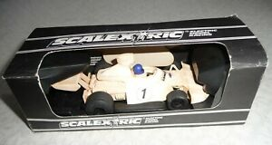 Vintage Boxed Scalextric Martini Brabham BT F1 448 Slot Racing Car
