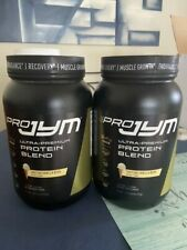 Two, Pro Jym protein powder 2 lbs. Tahitian Vanilla Bean flavor