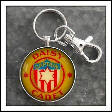 Vintage Daisy B.B. Air Rifle Gun Badge Photo Keychain