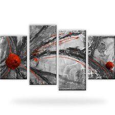 Abstraktion Schwarz-Weiss Wandbilder auf Leinwand Kunstdruck