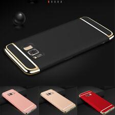 Ultra slim shockproof hybrid, 3 in 1 hard pc plating phone case + screen wipes