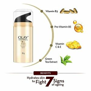 Olay Day Cream Total Effects 7 in 1, Anti-Ageing SPF 15, 20gm