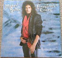Michael Bolton - Everybody's Crazy 1985 USA vinyl LP