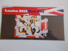 2005 London 2012 Host City Olympics M/Sheet Presentation Pack (No.M11) Cat £12