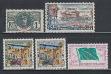 Dahomey 1906-1962 Collection Mint hinged and never hinged
