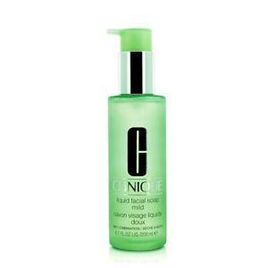 NEW Clinique Liquid Facial Soap Mild 200ml Womens Skin Care