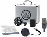 AKG C414 XLS Condenser Recording Microphone UPC 0885038025917