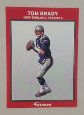 "Tom Brady FATHEAD Small Ad Panel Poster 6"" x 4"" NFL Wall Graphics PATRIOTS"
