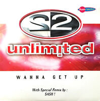 2 Unlimited CD Single Wanna Get Up - France (EX/EX+)