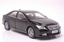 Toyota Camry 2012 car model in scale 1:18 black