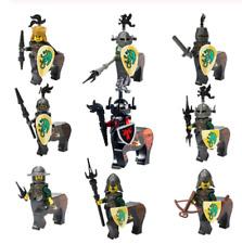 Medieval Roman Sagittarius Ninjago Cavalry Dragon Blue Knights Minifig Lego MOC