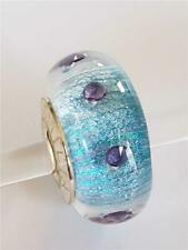 Chamilia SEA SPARKLE RADIANCE COLLECTION Murano Glass Sterling Bead 2116-0079