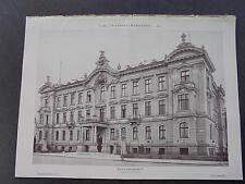 1899 Baugewerkszeitung 59 / Dresden Palais Lukasstraße
