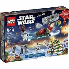 STAR WARS 2015 ADVENT CALENDAR LEGO # 75097  292 pcs 5 minigures SAME DAY SHIP