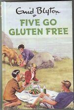 FIVE GO GLUTEN FREE            ENID BLYTON