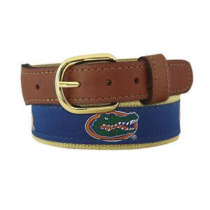 ZEP PRO University of Florida Gators Mens Leather Canvas Embroidered Belt 32-54