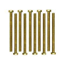 Zylinderschrauben Messing Schraube DIN84 M3x20mm 10 Stück (0061)