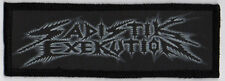 SADISTIK EXEKUTION PATCH / SPEED-THRASH-BLACK-DEATH METAL