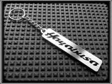 Keyring for SUZUKI GSXR 1300 HAYABUSA - Stanless Steel, Hand Made, Chain Key Fob