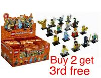 LEGO MINIFIGURES SERIES 15 71011 - CHOOSE YOUR  MINIFIGURE NEW