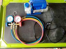 3 CFM Monostadio Pompa A Vuoto Refrigerazione Aria Condizionata 84lt/min