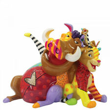 DISNEY ROMERO  BRITTO LION KING SIMBA, PUMBAA & TIMON  GIFT BOXED 6006084 14.5CM