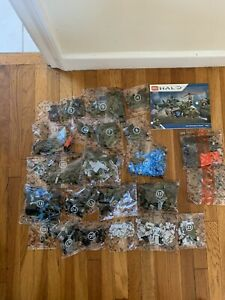 Open Box Mega Construx Halo UNSC Frostraven Vs. Decimus building set