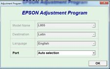 Reset Epson L805 Reset ink pads counter