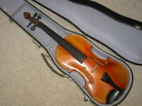 "Beautiful old 4/4 ""Joseph Guarnerius "" Violin violon Made in Germany"