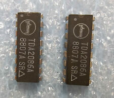 TDA2086A DIP16 IC (X 2 pc. SET) -all stock in USA!