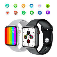 W26 ECG Men Waterproof Call Smart Watch Full Touch For Android IOS