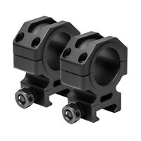 """NcStar VR30T11 Tactical Series 30mm Scope Rings 1.1"""" Optic Centerline Height"""