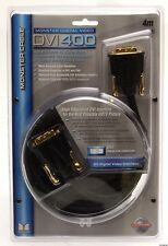 Monster Digital Video Cable DVI 400 4m 13 Feet DVI Male to DVI Male - NEW