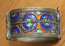 ancien bracelet ethnique en émaux ou émaillé Maroc ??